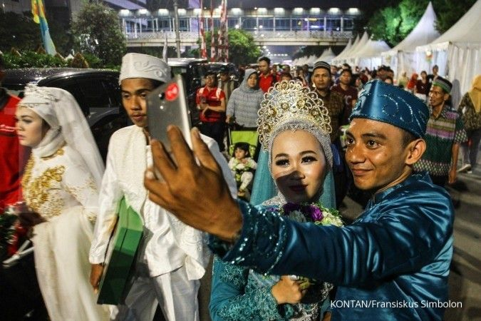 Masjid Jakarta Islamic Center tutup pendaftaran akad nikah 2 pekan karena corona
