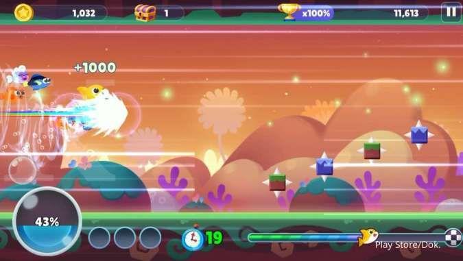 Game Baby Shark Run Away di Play Store