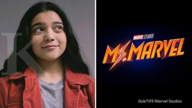 Iman Vellani sebagai Ms. Marvel untuk series terbaru Disney+, superhero muslim remaja pertama di Marvel.