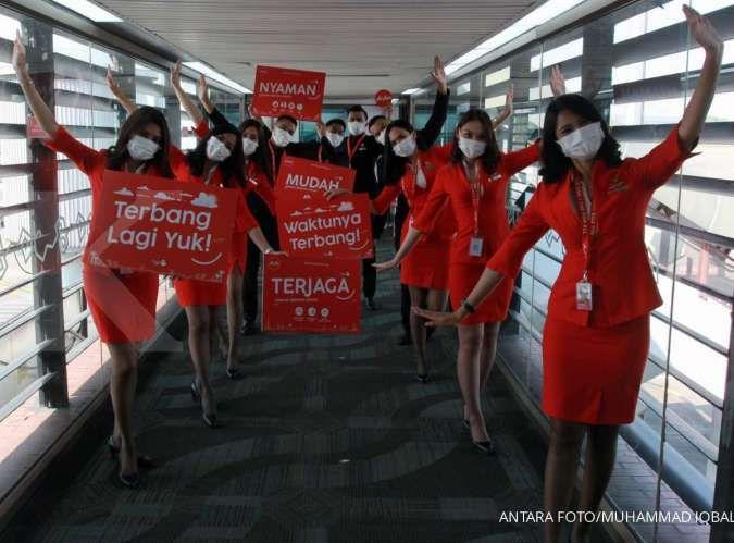 Hari terakhir, promo Air Asia Super Sale, diskon tiket pesawat terbang 50%