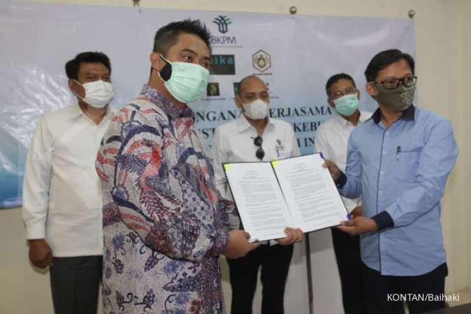 Kerjasama antara investor Thailand dan Indonesia yang disaksikan BKPM