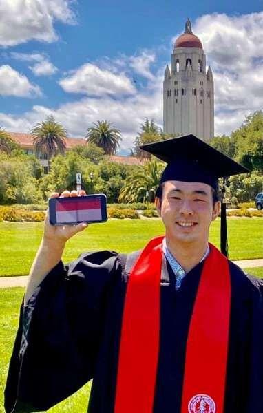Philippe Pangestu, mahasiswa RI lulusan Stanford University dengan gelar kehormatan