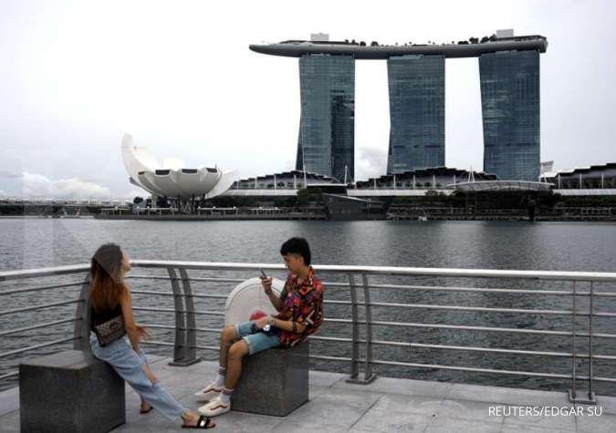 Retno Marsudi menjelaskan, negosiasi antara Indonesia dengan Singapura terkait Travel Corridor Arrangement (TCA) telah diselesaikan pada hari ini. REUTERS/Edgar Su