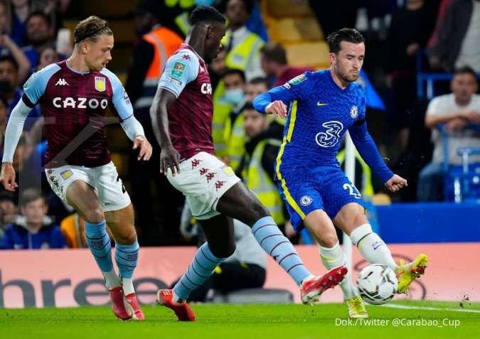 Hasil Chelsea vs Aston Villa di Carabao Cup: The Blues menang adu penalti 4-3