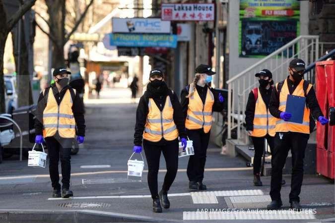 Australia's COVID-19 hotspot on track for easing lockdown