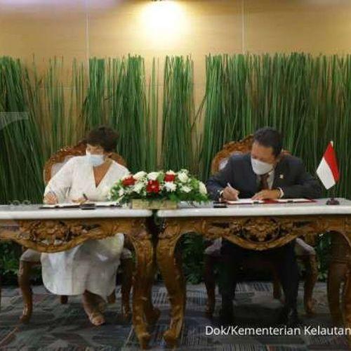 Indonesia-Prancis Perkuat Kerja Sama Sektor KP, Menteri Trenggono: Ini Konkret dan Solutif