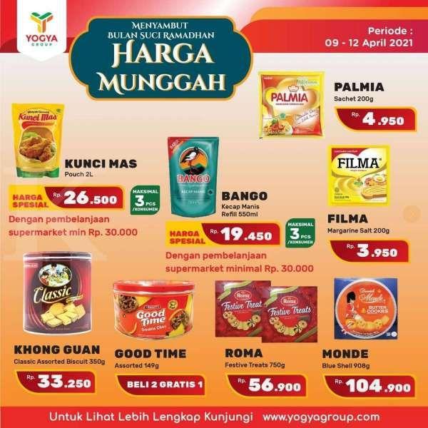 Promo JSM Yogya Supermarket 10 April 2021, ada program Harga Munggah!