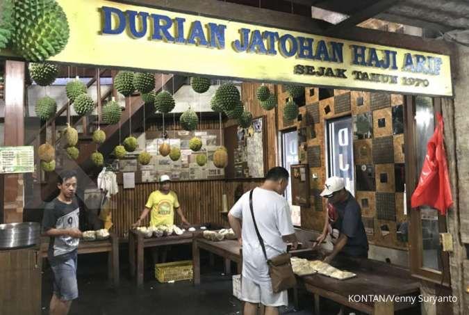 Menikmati kuliner Durian Jatohan di Pandegelang