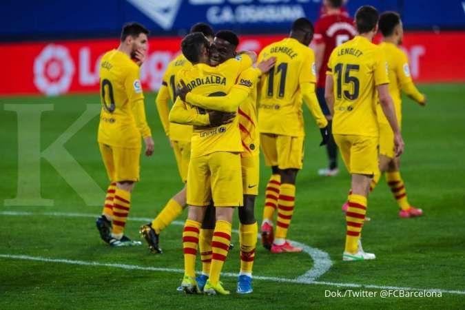 Barcelona vs Real Valladolid di Liga Spanyol: Usaha Blaugrana incar pucuk klasemen