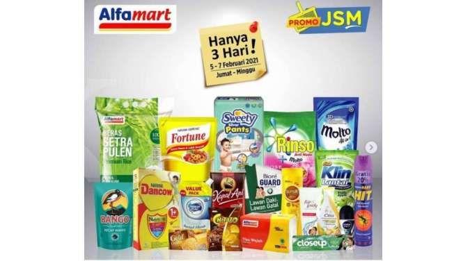 Promo JSM Alfamart Promo 5-7 Februari 2021