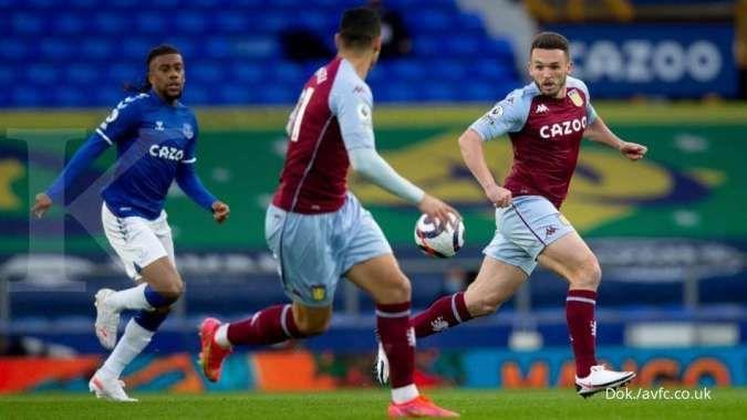 Hasil Liga Inggris antara Everton vs Aston Villa