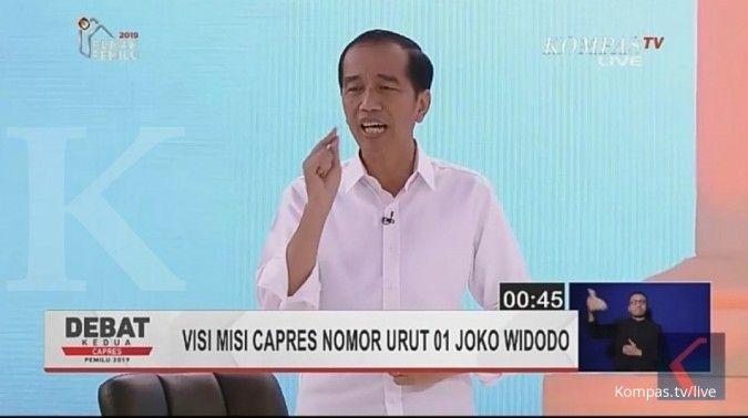 Jokowi tegaskan akan konsisten membangun infrastruktur