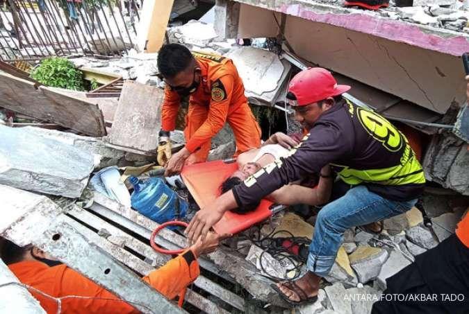 Ini penyebab terjadinya gempa bumi yang terjadi di wilayah Majene