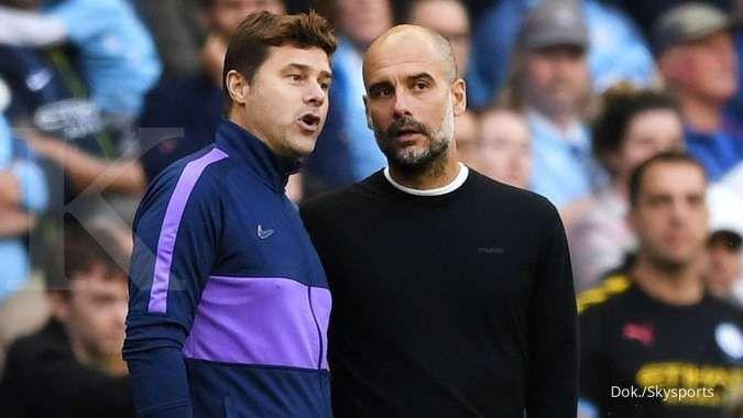 Mauricio Pochettino puji Pep Guardiola jelang laga PSG vs Man City