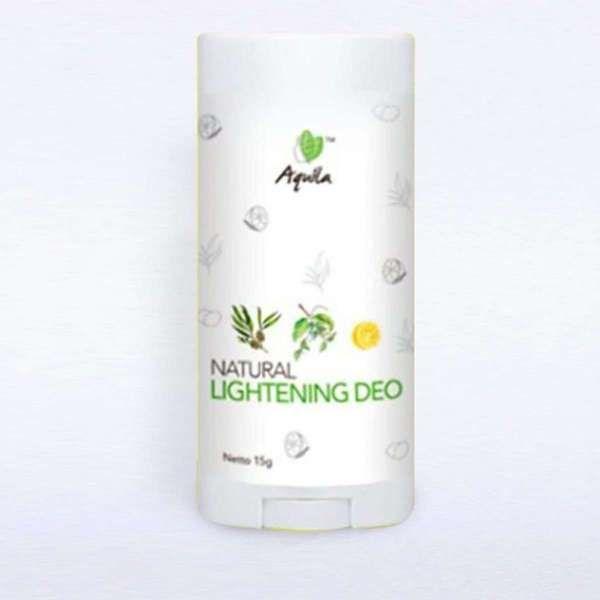 Natural brightening deo with kakadu plum, lemon & cinamide