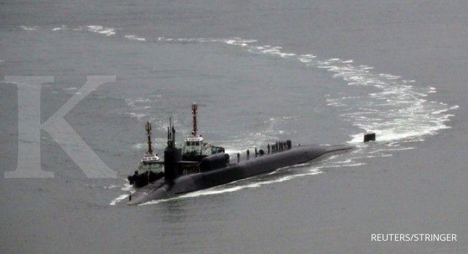 AS kirim 7 kapal selam yang dipersenjatai torpedo & rudal tomahawk ke Indo-Pasifik