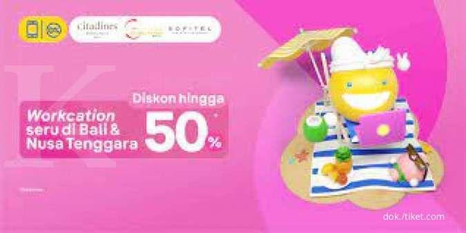 Rasakan WFH rasa liburan di Bali dan Nusa Tenggara dari Tiket.com
