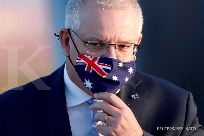 PM Australia Scott Morrison ragukan kemampuan kapal selam Prancis