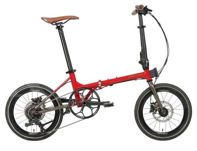 Sepeda lipat United Black Horse