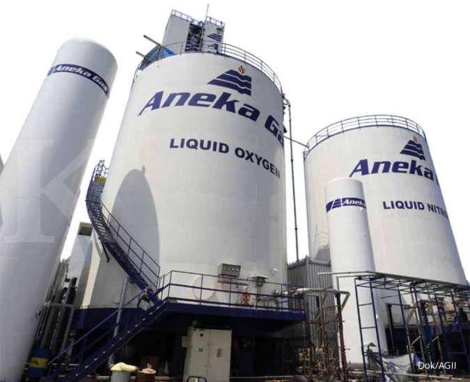 Permintaan gas medis diperkirakan dapat menopang kinerja Aneka Gas (AGII)