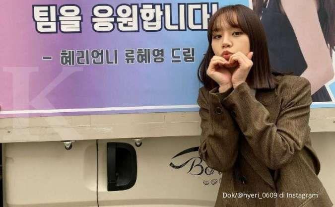 Syuting drama Korea terbaru, Hyeri mendapatkan dukungan dari pemeran Reply 1988