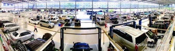 Industri dan Perdagangan Bintraco Dharma (CARS) telah menggunakan seluruh dana IPO