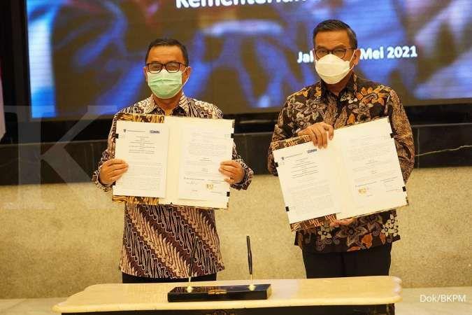 Kementerian Investasi bersinergi dengan BRI permudah akses layanan perizinan UMKM