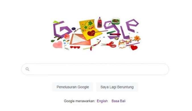 Cara Membuat Ucapan Selamat Hari Ibu Lewat Google Doodle Hari Ini