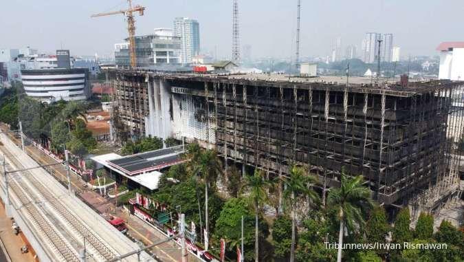 Gedung Kejagung yang terbakar belum dicover asuransi barang milik negara