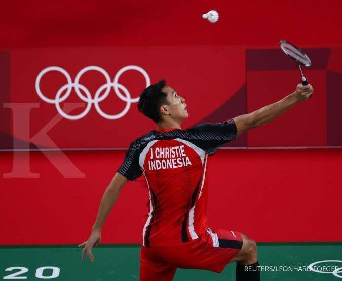 Hasil Olimpiade Tokyo 2020: Anthony Ginting dan Jonatan Christie tembus 16 besar