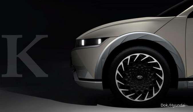 Teaser mobil listrik Hyundai Ioniq 5
