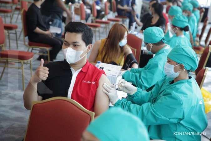Kemenkes: Vaksinasi Covid-19 baru 5%, dipercepat setelah Lebaran
