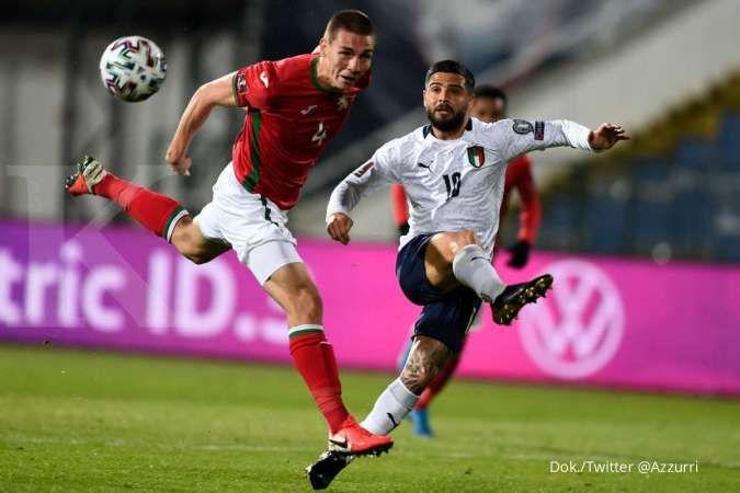 Bulgaria vs Italia: Tim Azzurri tundukkan skuad Lavovete 0-2