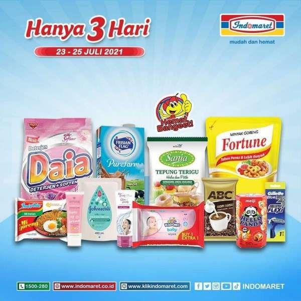 Promo Sabun Muka dan Kebutuhan Harian di Indomaret 23-25 Juli 2021, Banyak Diskon!
