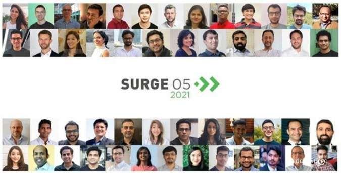 Surge gelontorkan US$ 55 juta ke 23 startup, 3 di antaranya dari Indonesia