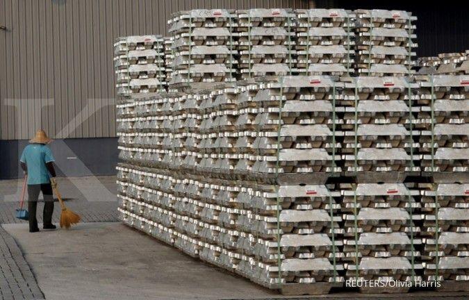 Harga aluminium turun ke US$ 1.871 per metrik ton, ini kata Asia Trade Point Futures
