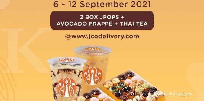 Promo J.CO mingguan 6-12 September 2021, harga spesial khusus pembelian delivery
