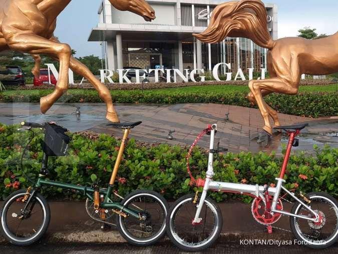 Lebih murah mana, merakit atau membeli sepeda lipat utuh?
