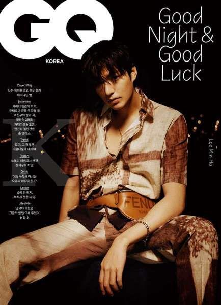 Lee Min Ho membahas drama Korea terbaru Pachinko bersama GQ Korea.