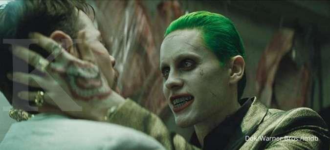 Konsep foto Joker di film Suicide Squad dirilis oleh sutradara David Ayer