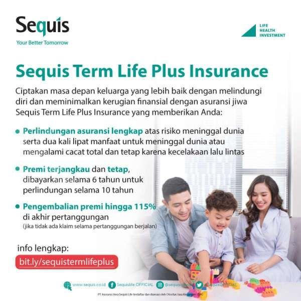 Sequis luncurkan Asuransi Millenium Gold Plus Rupiah & Sequis Term Life Plus