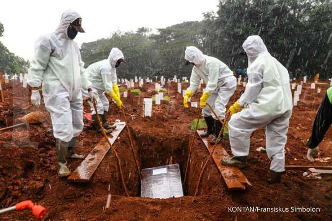 Sedih! Ada 690 jenazah warga dimakamkan dengan protokol corona di Jakarta pada Mei