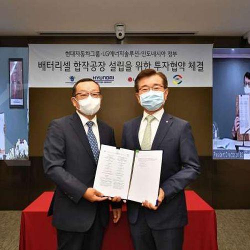 Hyundai Motor dan LG Energy Solution Menandatangani MoU dengan Indonesia Bangun Pabrik Sel Baterai Kendaraan Listrik