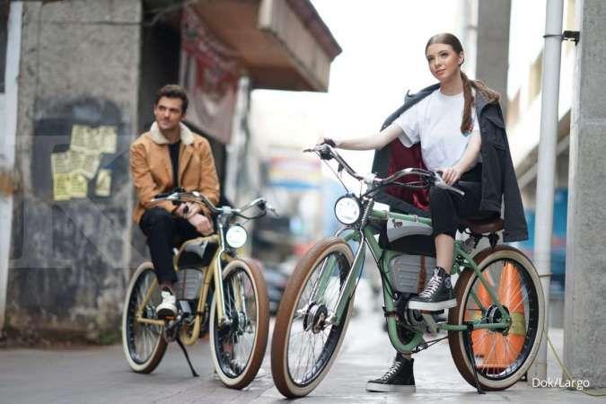 Mengayuh cuan sepeda listrik klasik dan premium dari Largo eBike