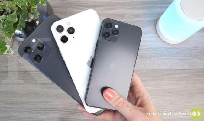 Bocoran desain iPhone 12 series kembali beredar, punya desain lebih gagah