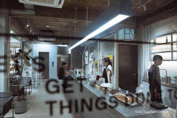 Tujuhari Coffee sapa kaum millenial produktif Jakarta