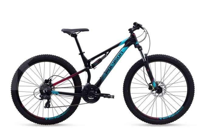 Daftar harga terbaru sepeda gunung Polygon seri Rayz, full suspension