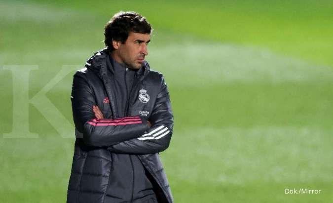 Keputusan masa depan Raul Gonzalez di Real Madrid bergantung Zinedine Zidane