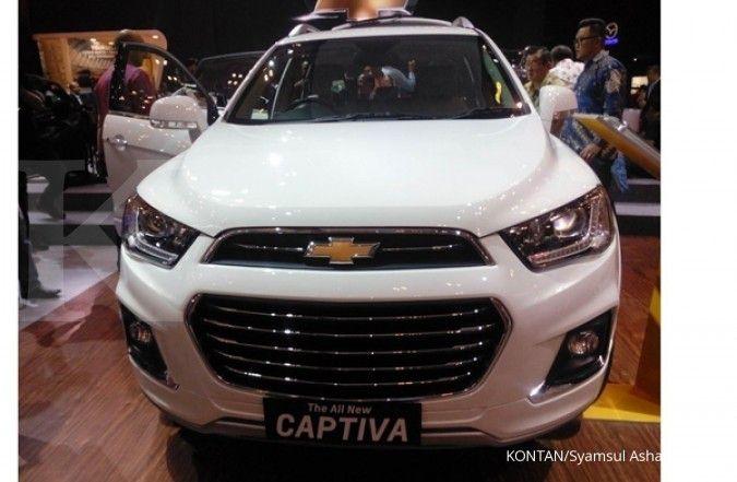 Murah hanya Rp 45 jutaan, lelang mobil dinas Chevrolet Captiva