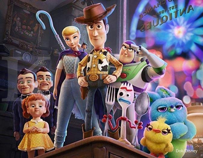 Woody siap berpetualang dalam Toys Story 4